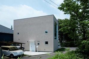 Энергоэффективный городской дом в городе Йокогама