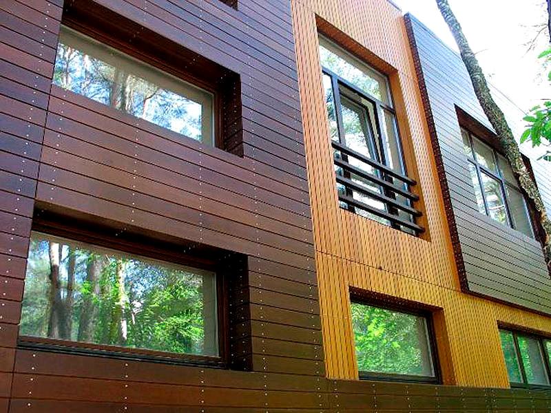 Фасадные материалы для дома