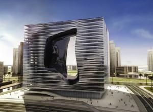 Гигантский «куб» в центре Дубаи