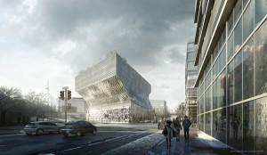 Инновационные блоки в форме трапеций, выполненные из стекла, для интерьера и экстерьера зданий от компании Seves