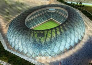 Инновационный мобильный стадион в Катаре