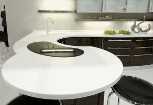Искусственный камень для кухонных поверхностей