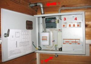 Как присходит создание электропроводки в частном доме