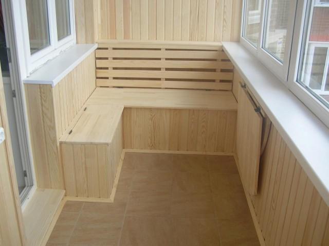Как сделать обшивку балкона