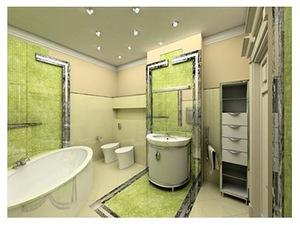 Концепция стиля бразильского карнавала в интерьере ванной комнаты