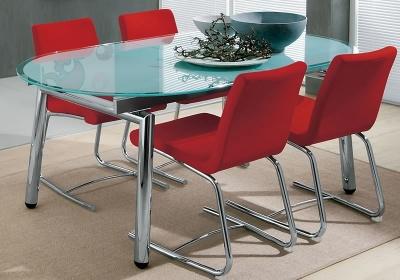 Кухонные стеклянные столы. Выбираем обеденные столы