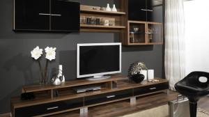 Мебель для гостиной, красивые стенки для гостиной