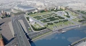 Московские власти планируют развитие Зарядья