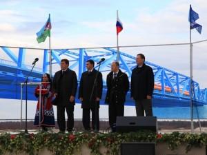 Мост через реку Надым будет завершен в 2014 году
