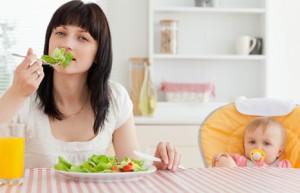 Несколько рекомендаций о том, чем питаться кормящей матери