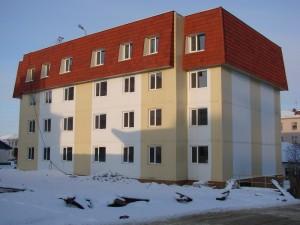 Новые дома в Магадане