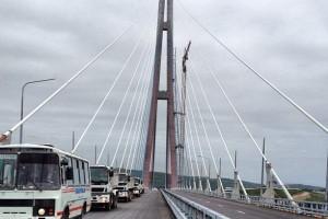 Новый мост во Владивостоке
