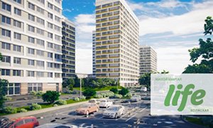 Объявлено начало продаж нового корпуса жилищного квартала Life-Волжская