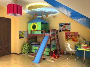 Оформление детской комнаты с учетом возраста ребенка