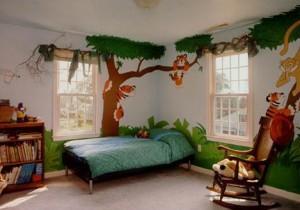 Оформление и ремонт детской комнаты