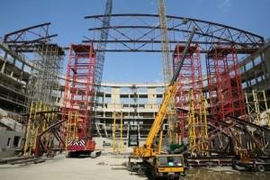 Олимпийская стройка в Сочи затихла из-за отсутствия финансов