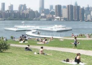 Плавучий нью-йоркский бассейн Plus Pool