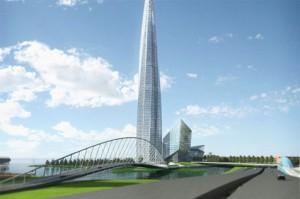 Росавиация дала «добро» Газпрому на строительство небоскреба в Петербурге