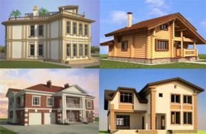 Создание индивидуального проекта загородного дома