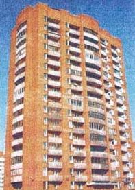 современные кирпичные жилые дома серии 1-528кп-82