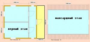 Деревянный дом «2Д»