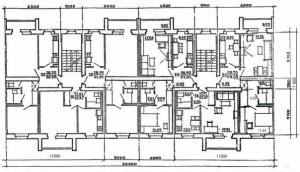 86 серия домов планировка