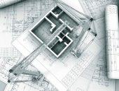 Макет квартиры и ватманы с чертежами