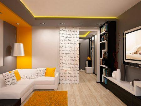 Замена дверей в гостиной