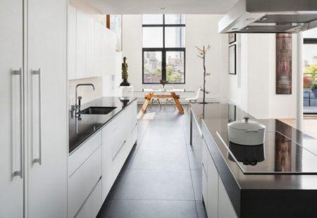 Дизайн-проект кухни в светлых тонах