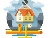 Изображение дома и коммуникаций