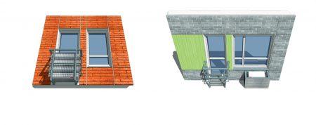 Схематичное изображение панелей в домах ДОММОС