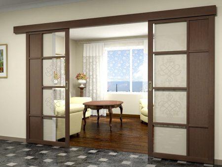 Раздвижные двери-перегородки