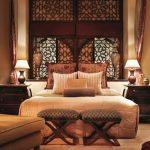 Экзотическая спальня в восточном стиле