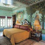 Индийские мотивы в интерьере спальни