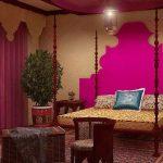 Индийское направление в оформлении спальни