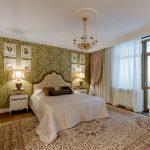 Классическая спальня в колониальном стиле