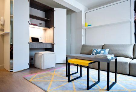Организация рабочего места в квартире-студии