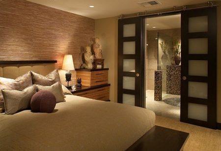 Азиатский стиль спальни