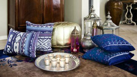 Арабские аксессуары для спальни в восточном стиле