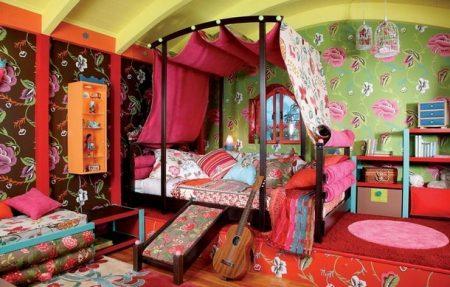 Детская комната в восточном стиле