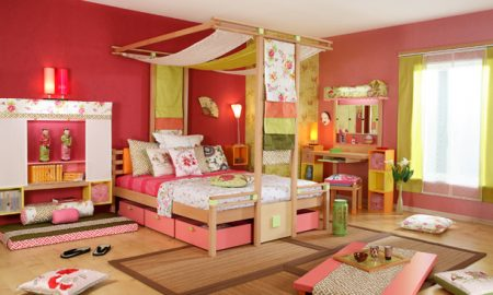 Комната в восточном стиле для девушки