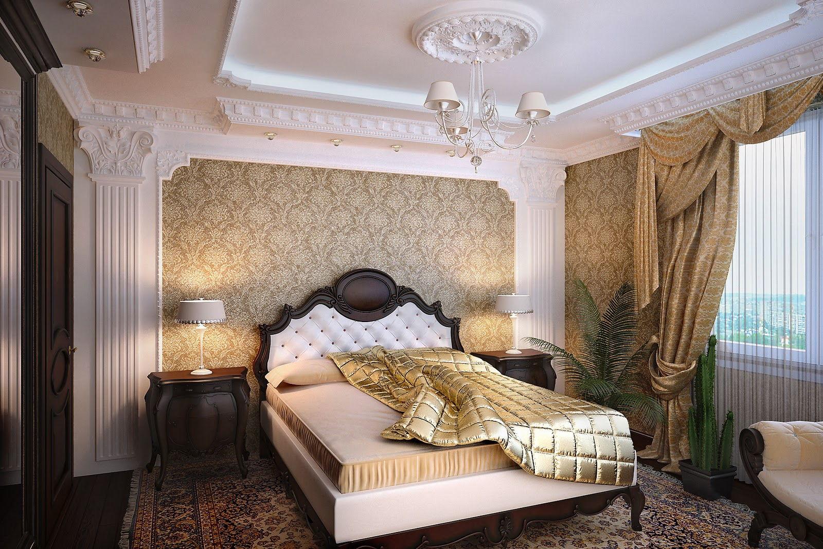 оформление стен в классической спальне фото памятников могилу включает