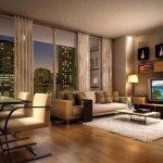 Дизайн квартиры-студии в теплых тонах