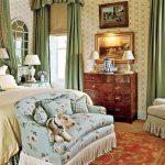 Обустройство спальни в английском стиле