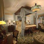 Пример оформления спальни в английском стиле