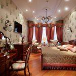 Дизайн спальни а английском стиле