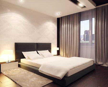 Спальня в минималистическом стиле