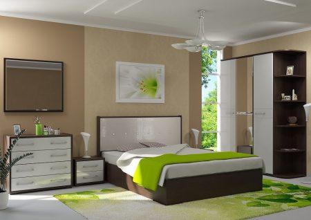 Комплект мебели в спальне