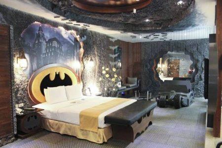 Атмосфера комиксов в спальне