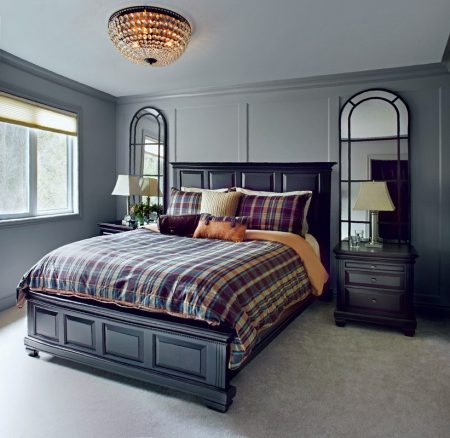 Спальня в современном английском стиле